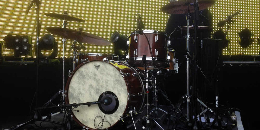 mickbeats Links Seite - Tama Superstar Mahogany Schlagzeug ready to rock