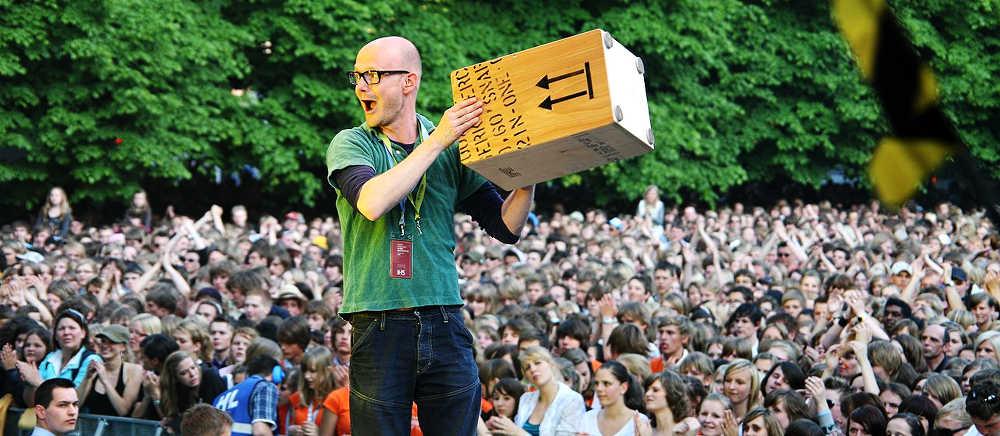 Michael Nick on stage mit Kuhlage & Friends, osnabrück 2008