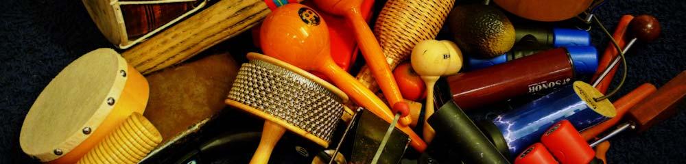 Percussioninstrumente im Schlagzeugunterricht